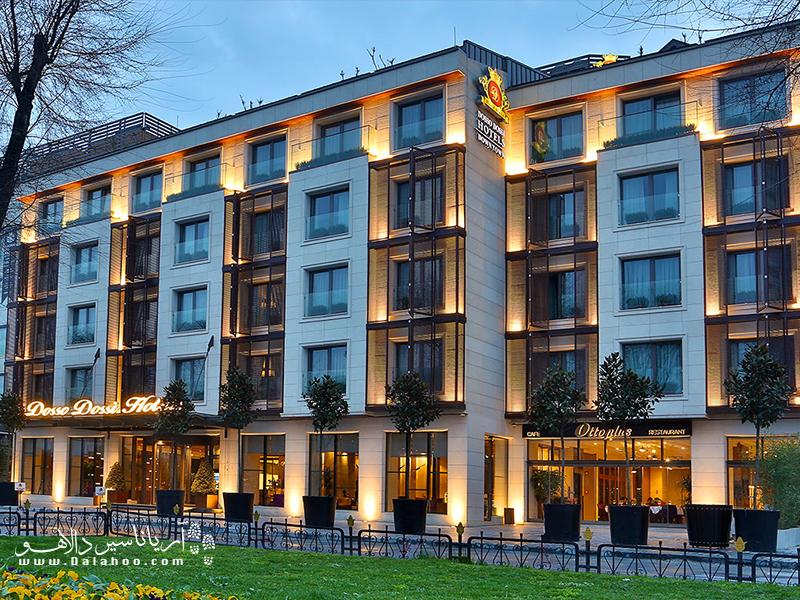 رزرو هتل در منطقه سلطان احمد.