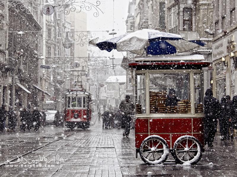 اگر قصد سفر ارزان به استانبول را دارید، فصل زمستان بهترین زمان سفر خواهد بود.