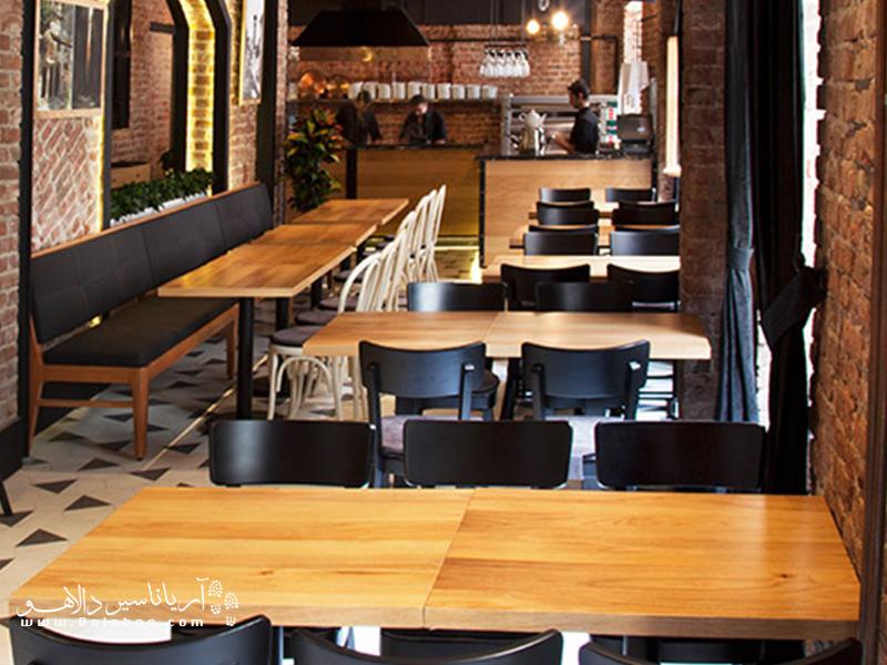 اگر به غذاهای جدید علاقه دارید، رستوران آنتوچیا فوقالعاده است.