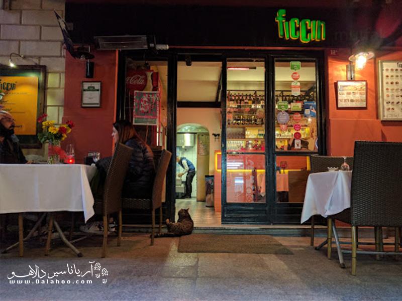 رستوران فیچین در خیابان استقلال واقع شده و این روزها به یکی از رستورانهای پر تردد و معروف بی اغلو شهرت دارد.