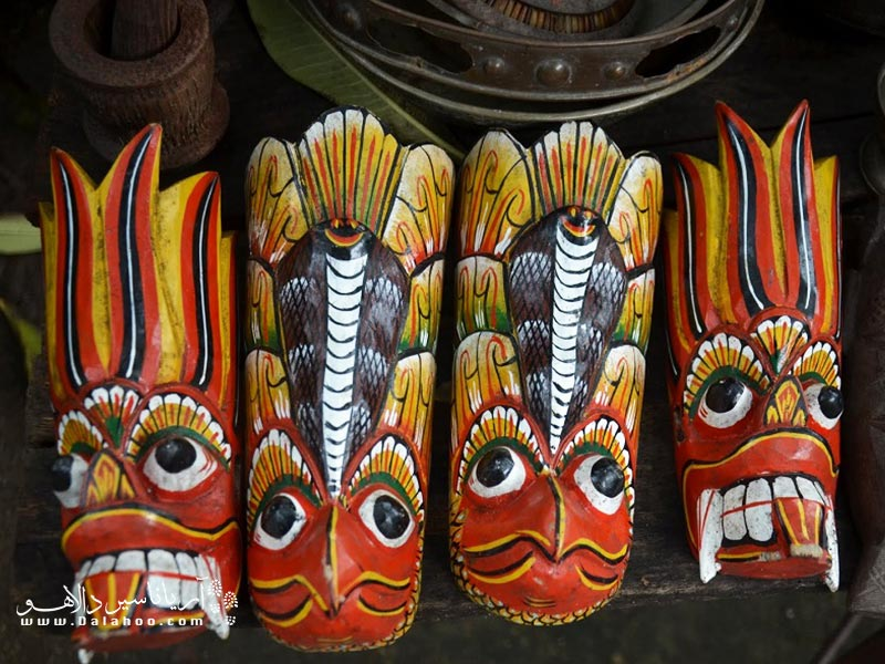صنایع دستی جالب سریلانکا.