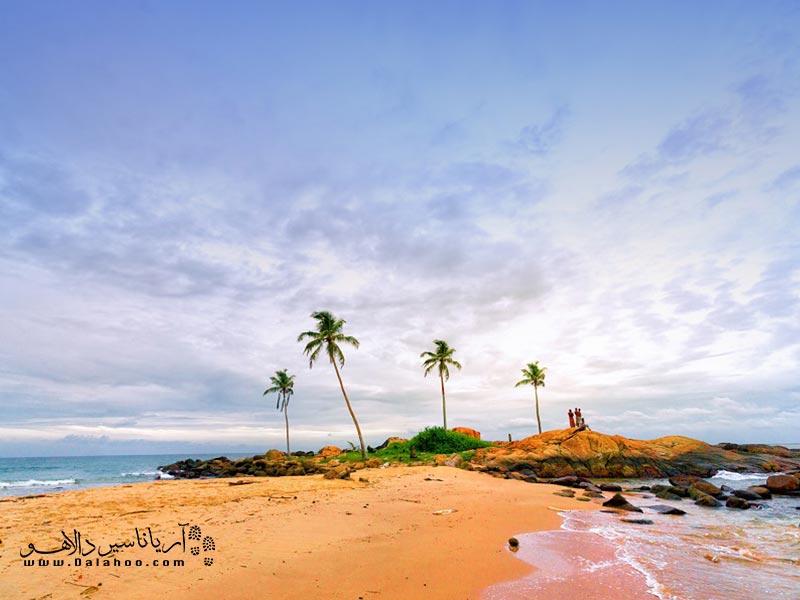 سواحل دلربای سریلانکا.