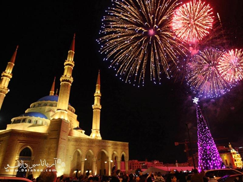 جشن کریسمس در استانبول باشکوه برگزار میشود.