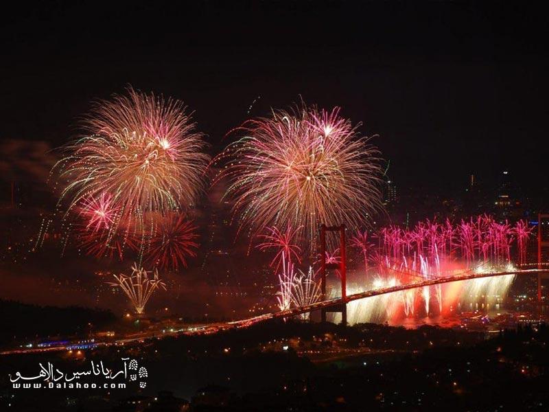کی از انگیزههای گردشگران از سفر به استانبول شرکت در جشن کریسمس میتواند باشد.
