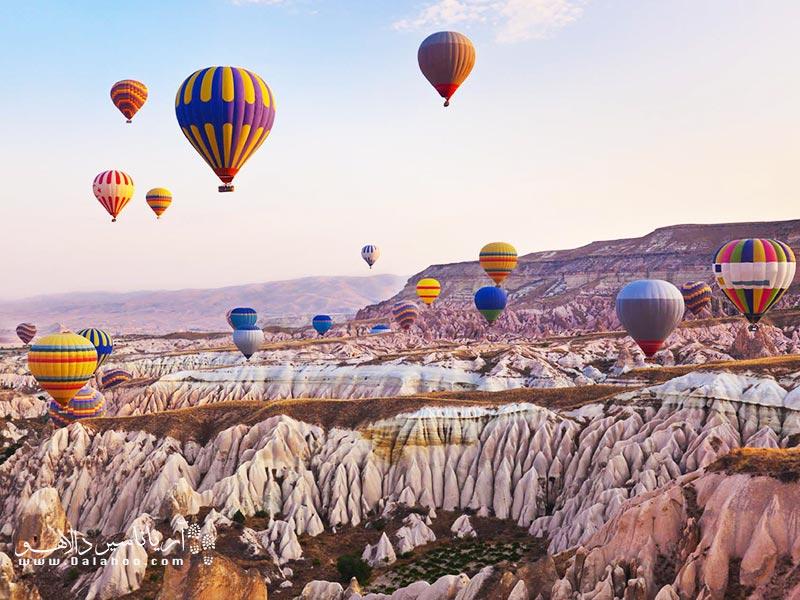 بالنسواری در کاپادوکیه یکی از لذت بخشترین و جذابترین تفریحات در کشور ترکیه است.