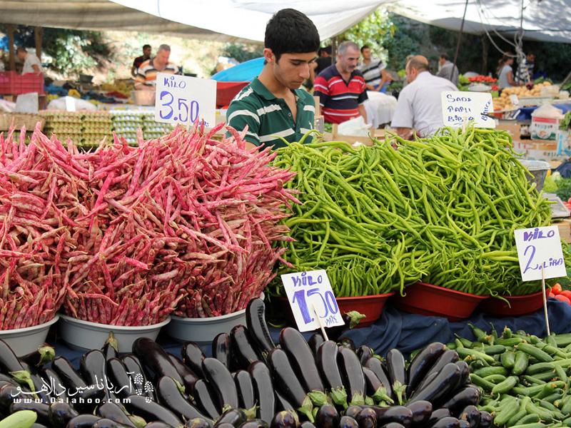 بازار آرنابوت (Arnavutköy) سه شنبه بازار دیگر استانبول است.
