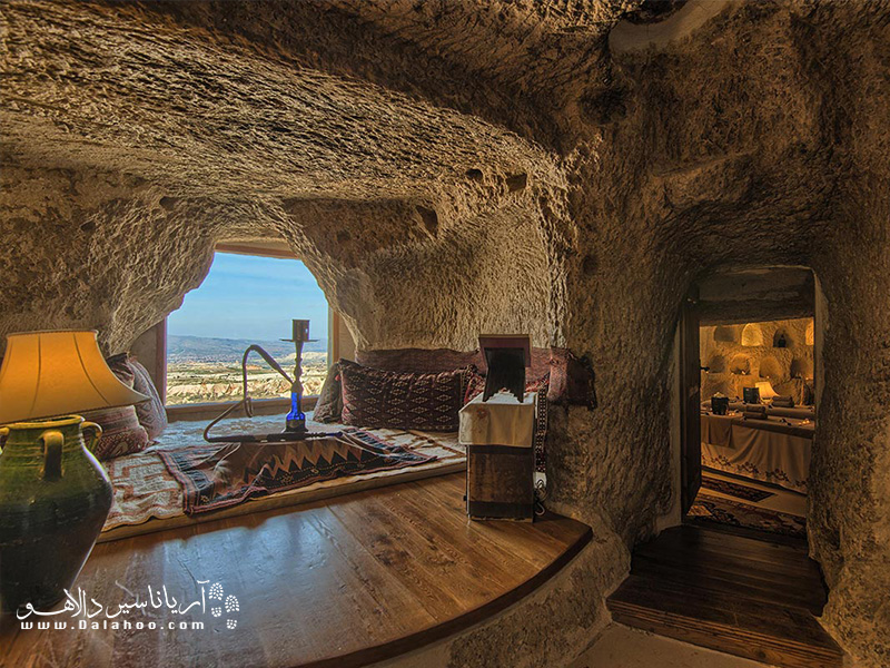 فضای داخلی هتل های کاپادوکیه و شهر گورمه.