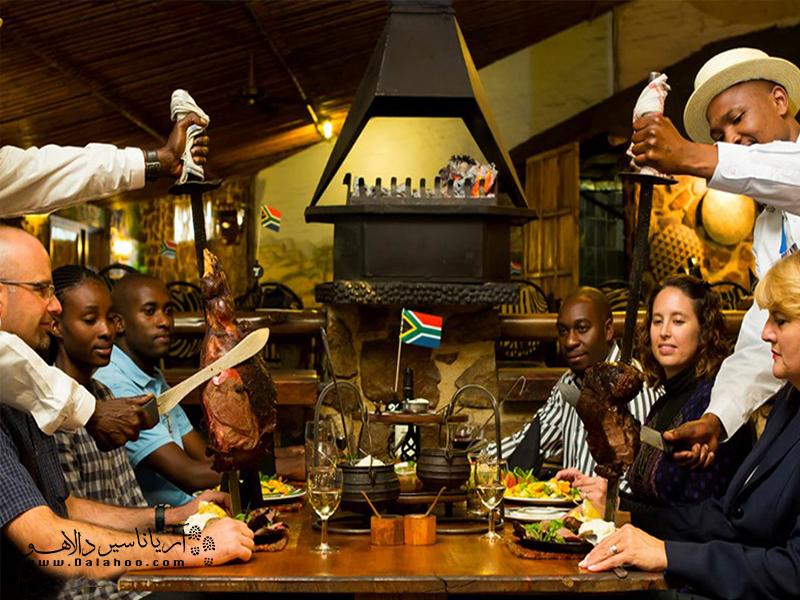 رستوران Carnovire در شهر نایروبی کنیا مخصوص کسانیست که گوشتخوارند.