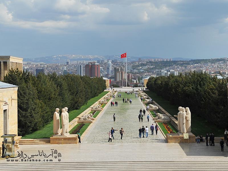 مجسمههای پارک صلح آنکارا.