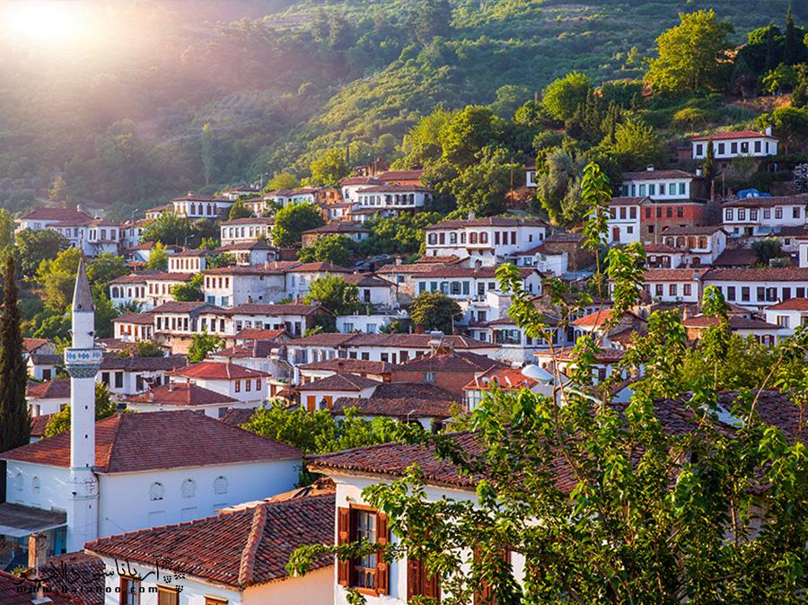 روستای شیرینجه در ازمیر ترکیه مقصد محبوب بسیاری از گردشگران است