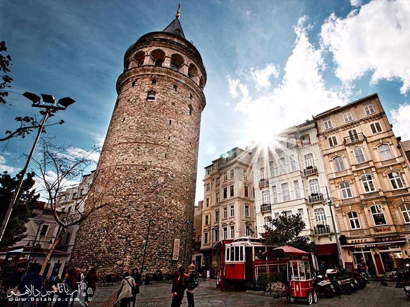 بی اغلو یکی از مدرنترین و اروپایترین مناطق استانبول است.