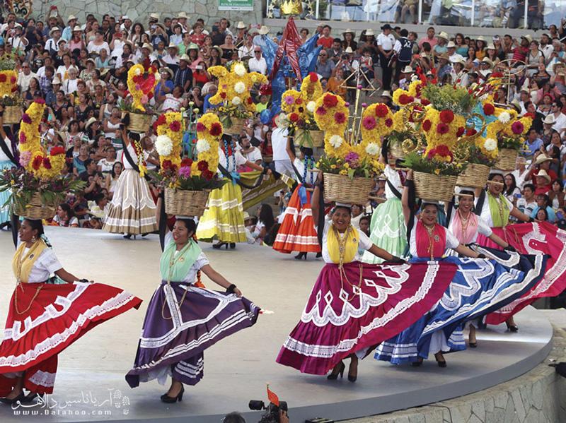 اکسالا، از از شهرهای توریستی مکزیک است که به دلیل جشواره بومی گولاگوتزا مشهور است.